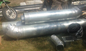 REDUCED PRICE!!  CHIMNEY AND ACCESSORIES  FOR FIREPLACE