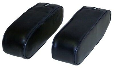 Ac7002arv Arm Rests Black Vinyl For Allis Chalmers 175 185 200 Tractors