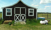 Outstanding Storage Shed\Mini Barn...