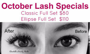 October Lash Specials - Certified Esthetician & Eyelash Tech. Kawartha Lakes Peterborough Area image 1