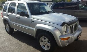 2003 Jeep Liberty Limited SUV, Crossover 2 YRS WAR LOW KM Cambridge Kitchener Area image 4