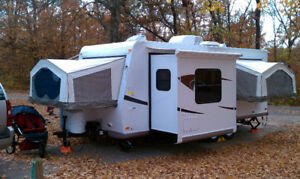 BEAUTIFUL HYBRID TRAILER FOR RENT/WE DELIVER AND SETUP TO YOU!
