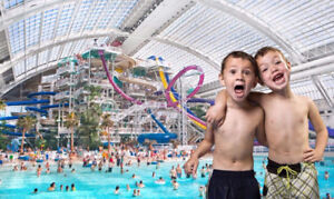 Day Pass Galaxyland or Waterpark West Edmonton Mall