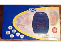 Scholl massage cushion