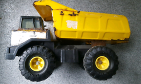 VINTAGE RETRO Original Late 70s Early 80s Yellow TONKA DUMP TRUCK FAB