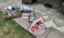 Vintage toys job lot loft clear out find