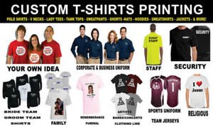 Whole sale t-shirts printing, flyers, business cards, signs