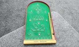 Bagatelle game Mickie fortuna