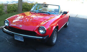 1979 Fiat Spider 124 For Sale