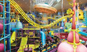 WEM Galaxyland or Waterpark Passes