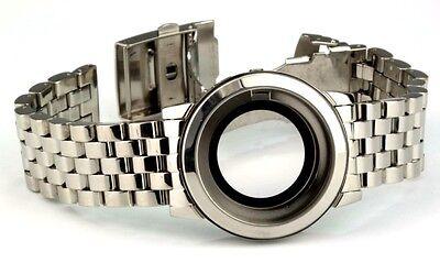 Edelstahl Uhrengehäuse mit Uhrband für ETA 2824-2 Werk Lagerware