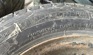 """14"""" Steel Wheels 4x100 5.5Jx14 With Tires 175/65R14 Stratford Kitchener Area image 4"""