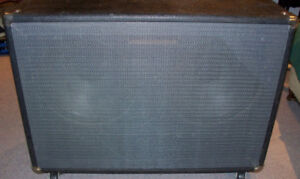 Over-size 8 ohm 2 X 12 ported bottom cab vintage Rola