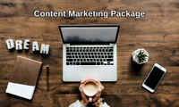 Content Marketing Package - FREE CONSULTATION