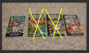 Captain underpants books [2nd + 12th]