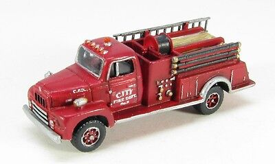 Used, N Scale 50's R-190 Fire Truck Kit by Showcase Miniatures (101) for sale  Tuskegee