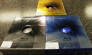 James Bond BluRay Sets