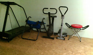 5 pcs of exercise equipment
