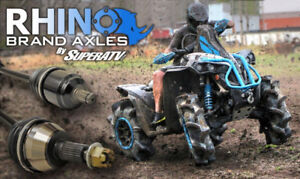 SuperATV Heavy Duty Rhino Brand Axle For most makes and models