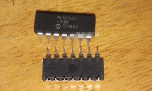 5pcs Pic16f630-i/p 16f630 Pic16f630 Dip-14 Microcontroller Chip Ic