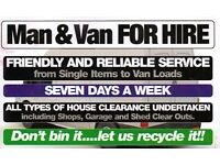 Van Man Removals & Rubbish Dumps