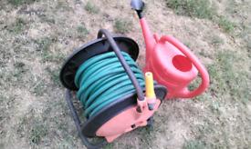 Long hosepipe free watering can
