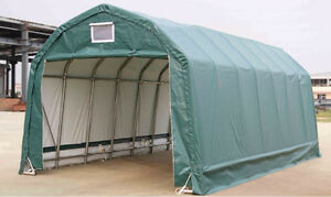 NEW 12X20X10 STORAGE SHELTER BUILDING GARAGE 122010P