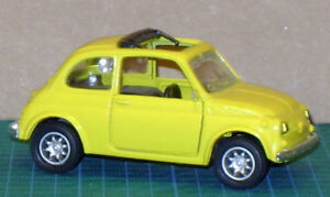 Fiat 500 (1957-1975 body style) in 1/43 scale