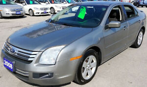 2008 Ford Fusion 4 cylinder Manual LOW Kilometer