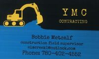 Y M C contracting is locally owned  to serving surrounding areas