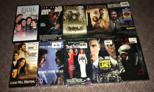 VHS New Sealed Lot of 10 80's 90's Drama Action Comedy Cult