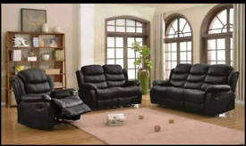 Roma leather recliner sofas