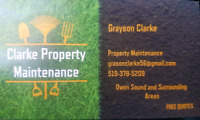 Do you need yard work done at your home or buisness?