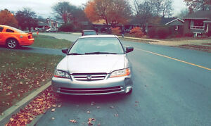 2001 Honda Accord only 73,201 miles winter and summer tires
