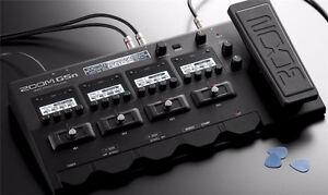 pedale multi-effets Zoom G5n avec sac de transport Zoom SCG-5