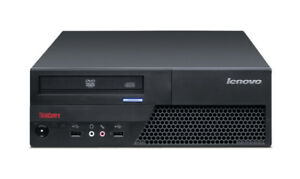 A Lot of 10 Lenovo SFF Desktops,C2D 2.93GHz/4G/250G/Win7 COA