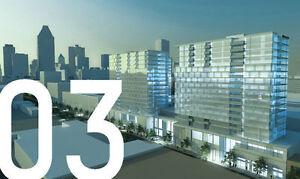 Griffintown sera animé avec les tours, District Griffin