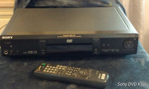Sony DVD Player w/ Original Remote +2 Fresh AA Batteries for $15