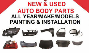 AUTO BODY PART OUT PARTS (NEW/USED/REPAIR)  INSTALLATION / PAINT