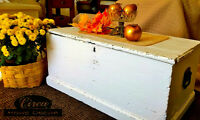 trunk coffee table wood box
