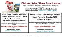 DISTRESS HOMES FOR SALE In Toronto-York-Peel Region