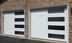 8x7 MODERN GARAGE DOORS.... $1450 INSTALLED