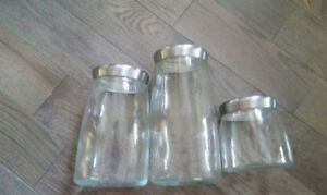 Candy Jars or Cannister Set