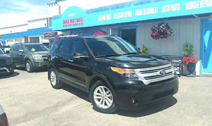 2014 Ford Explorer XLT LEATHER/CAMERA/ SUNROOF/ NAV / 7 SEATES