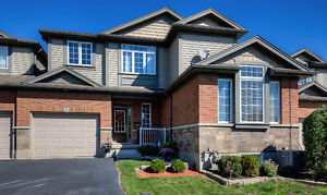 Pristine fully finished 3 bedroom home in inviting Elmira