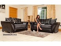 Corner settee or 3+2 couch, Fabric sofa or Corner sofas, All couches and suites guaranteed!