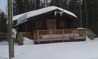 8 ACRES AT CLUCULZ LAKE WITH LOG CABIN