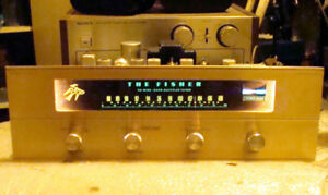 Vintage Tube The Fisher 50B FM stereo tuner
