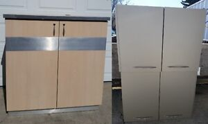 Office Quality Lower and Upper cabinets