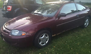 2003 Chevrolet Cavalier Coupe (2 door) Prince George British Columbia image 1